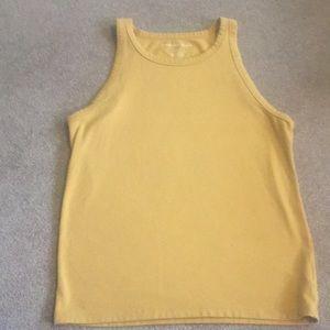 Mustard yellow tank top